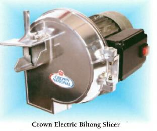 Crown National Electric Biltong Slicer 0.75Kw (220V)
