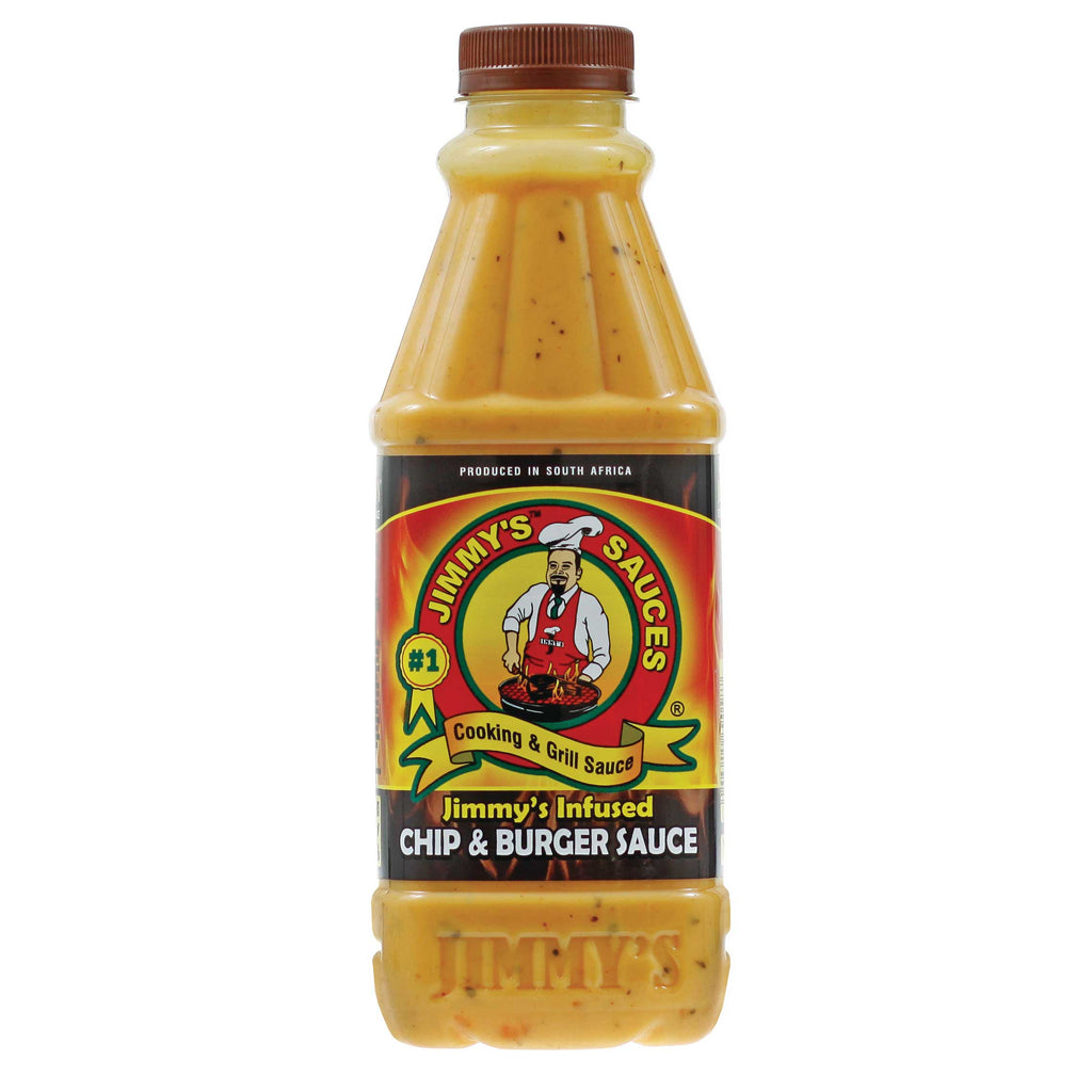 Jimmy's Infused Chip & Burger Sauce 12.7 fl oz (375ml)