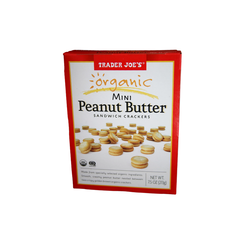 Organic Mini Peanut Butter Sandwich Crackers