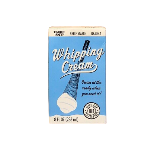 Shelf Stable Whipping Cream