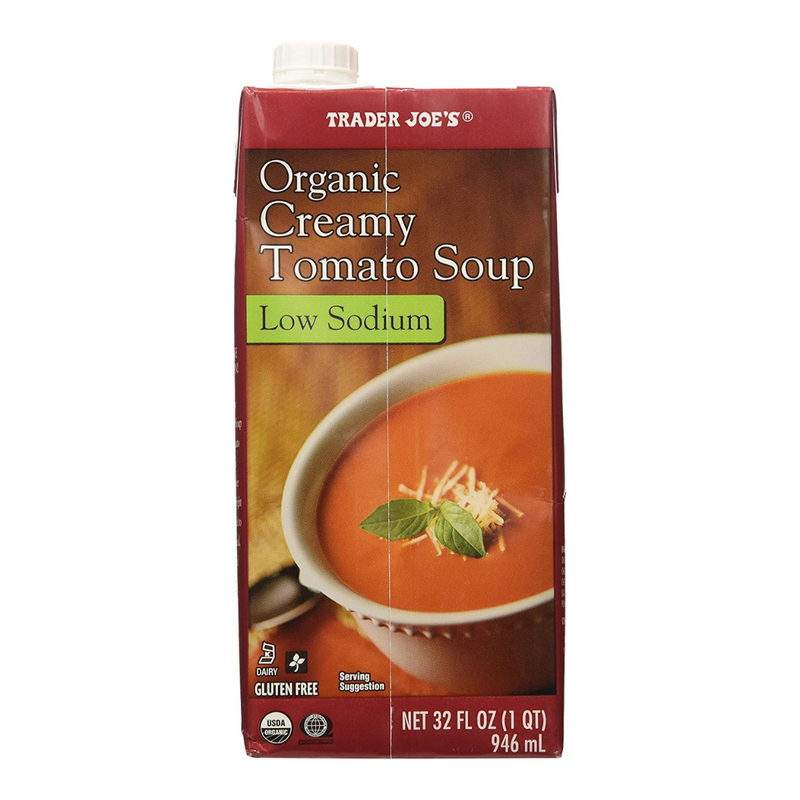 Low Sodium Organic Creamy Tomato Soup