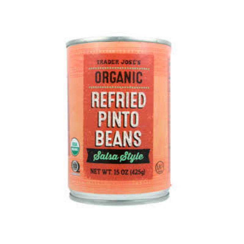 Organic Refried Pinto Beans Salsa Style