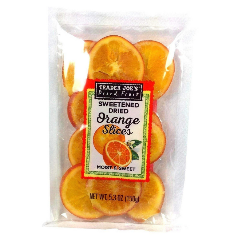 Sweetened Dried Orange Slices