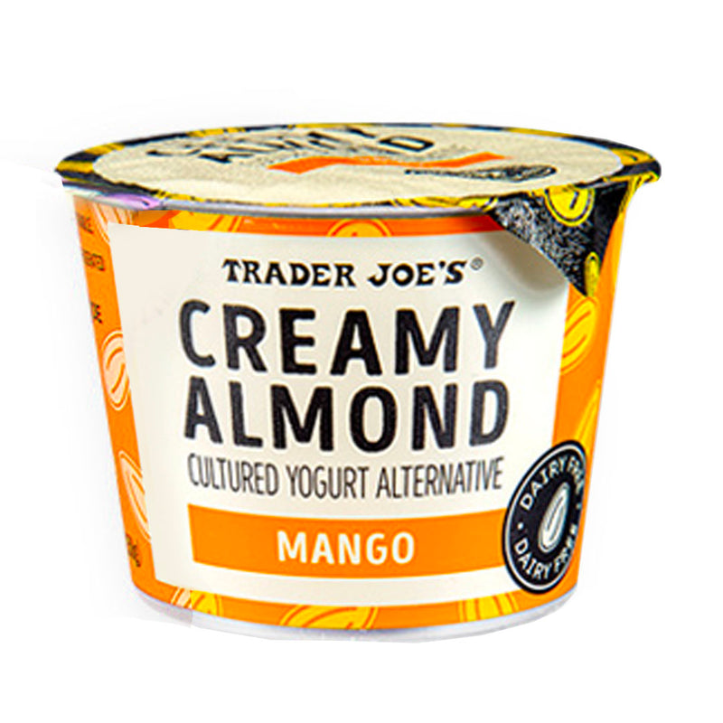 Creamy Almond Cultured Yogurt Alternative Mango