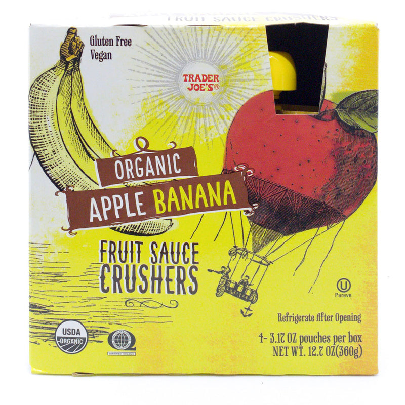 Organic Apple Banana Fruit Sauce Crushers