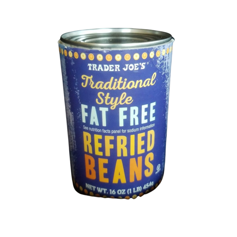 Traditional Style Fat Free Refried Black Beans