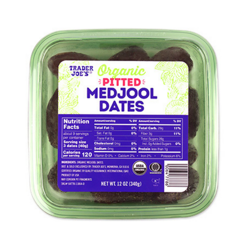 Organic Pitted Medjool Dates