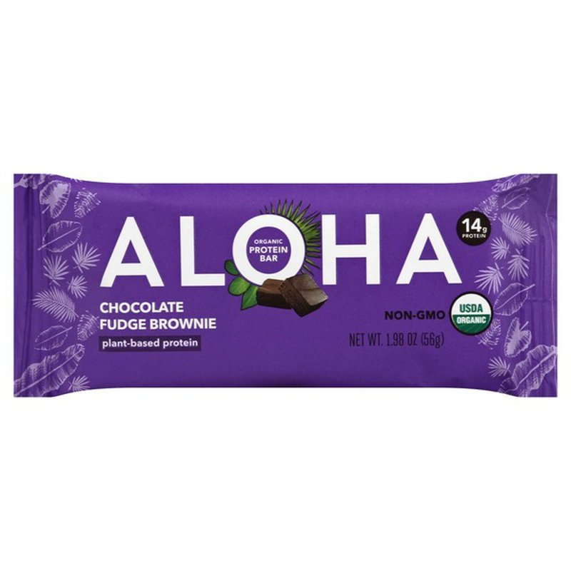 Aloha Bar Chocolate Fudge Brownie