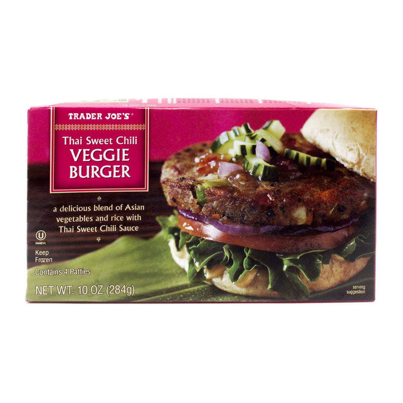 Thai Sweet Chili Veggie Burger