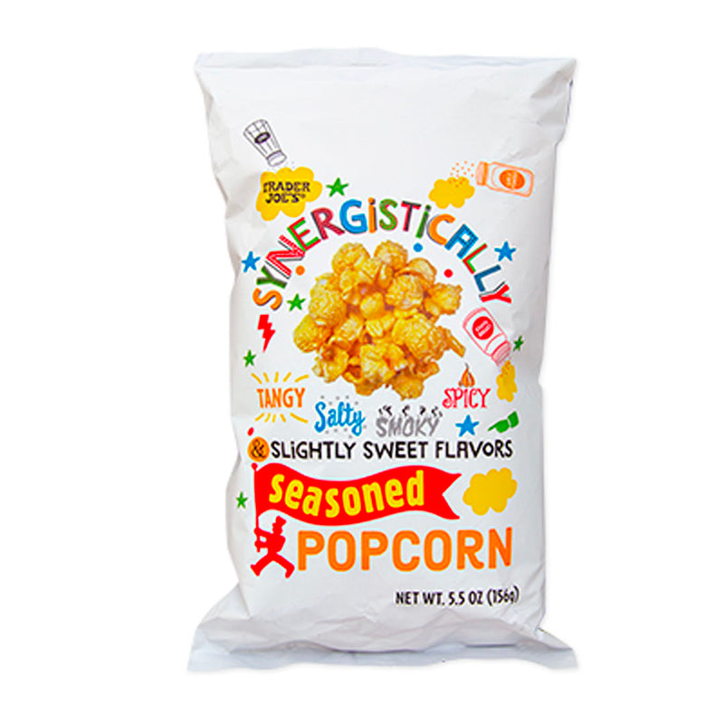 Synergistically Seasoned Popcorn