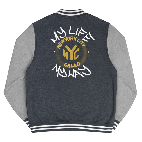 My Life My Way- Letterman Jacket