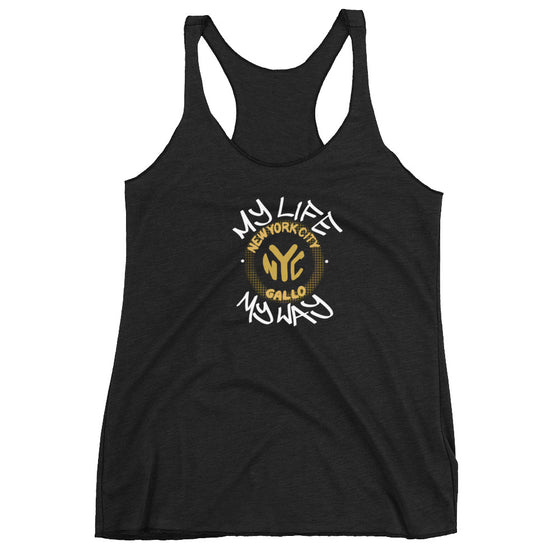 My Life My Way - Women's Racerback Tank