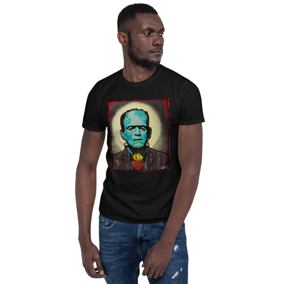 Frankie- Short-Sleeve Unisex T-Shirt