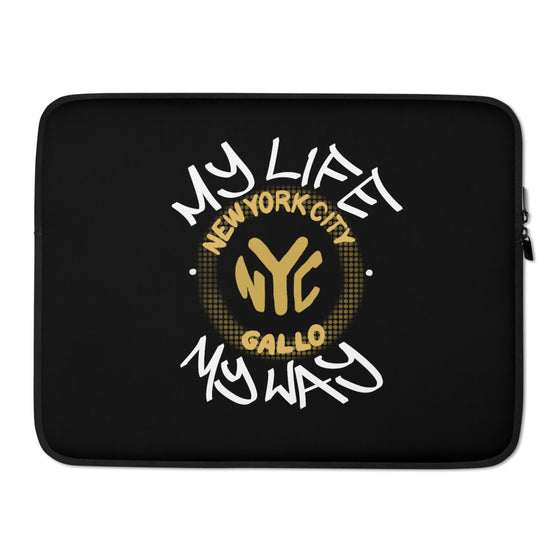 My Life My Way - Laptop Sleeve