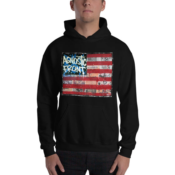 Agnostic Front Flag - Unisex Hoodie