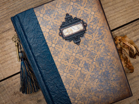 An Heirloom Journal - Classy Blue
