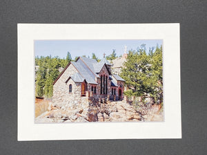 """Chapel on the Rock"" 5x7 print"
