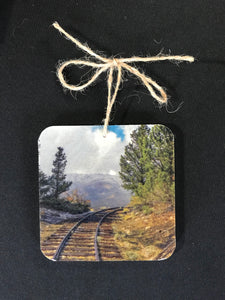 Ornament- Train Tracks to Nowhere