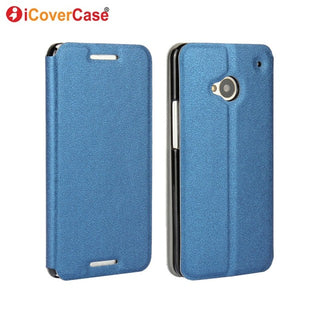 Leather Flip Stand Cell Phone Cases for HTC