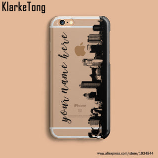 DIY Name Custom Design Print Case Cover For iPhone