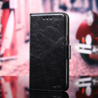 Wallet PU Leather Back Cover Case For Leagoo M8