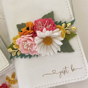 """Heather"" Wildflower Collection Felt Flower Swag"