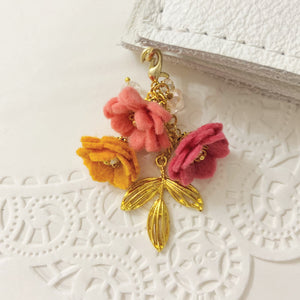 """Heather"" Wildflower Field of Flowers Charm"