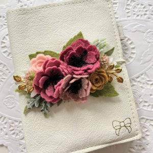"""Grace"" Wildflower Collection Felt Flower Swag"