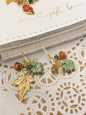 Colorful Leaves Bookmark
