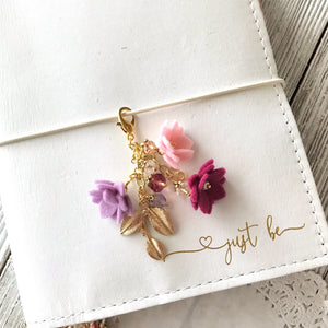 Field of Flowers Charm in Berries