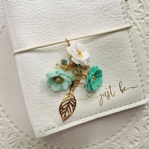 *Caribbean Sea* Field of Flowers Charm