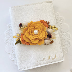 """Golden Autumn"" Felt Flower Swag New Version*"