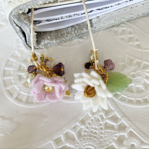 """Amy""  Wildflower Double flower Bookmark"