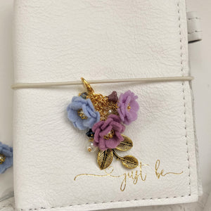 Field of Flowers Charm in lilac, wisteria and periwinkle