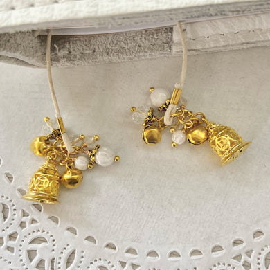 GOLD Bells Bookmark