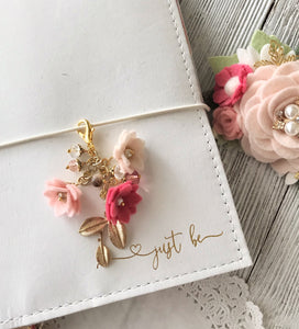 Field of Flowers Charm in Pinks