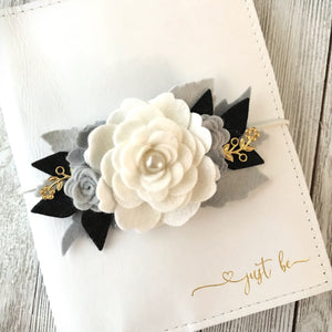 Simplicity Floral Swag with GOLD Accents