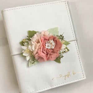 *Preorder* The Pinks Hydrangea Felt Flower Swag