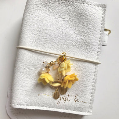 Field of Flowers Charm in Yellows