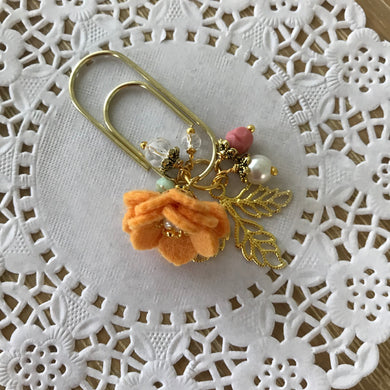 Tropical Vibes Dangle clip in Sunset