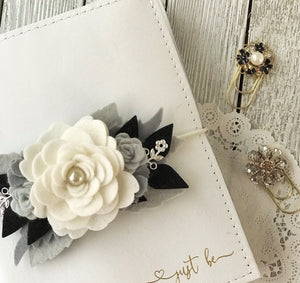 Simplicity Floral Swag with SILVER Accents