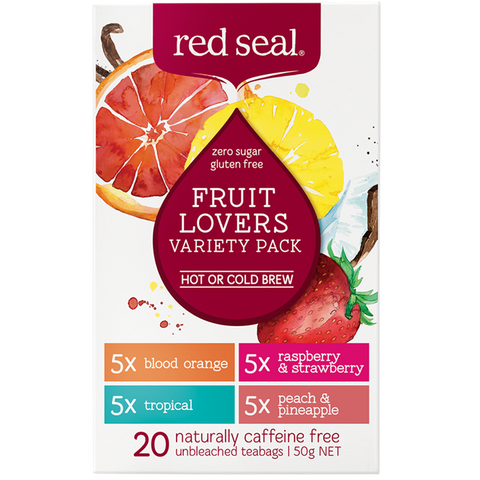 Fruit lovers Tea (4 Flavors in 1 box)