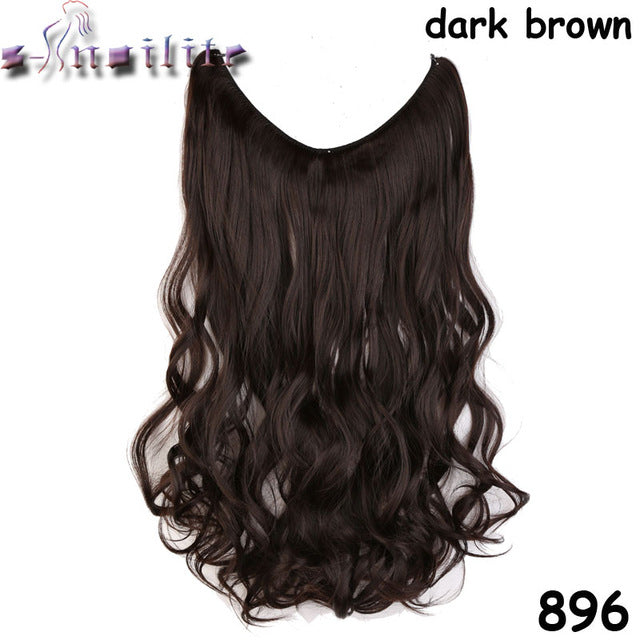 INVISIBLE WIRE HAIR EXTENSIONS – In Style Glow