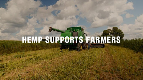 Hemp supports the American farmer