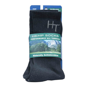 HempTopia Black Hemp Socks