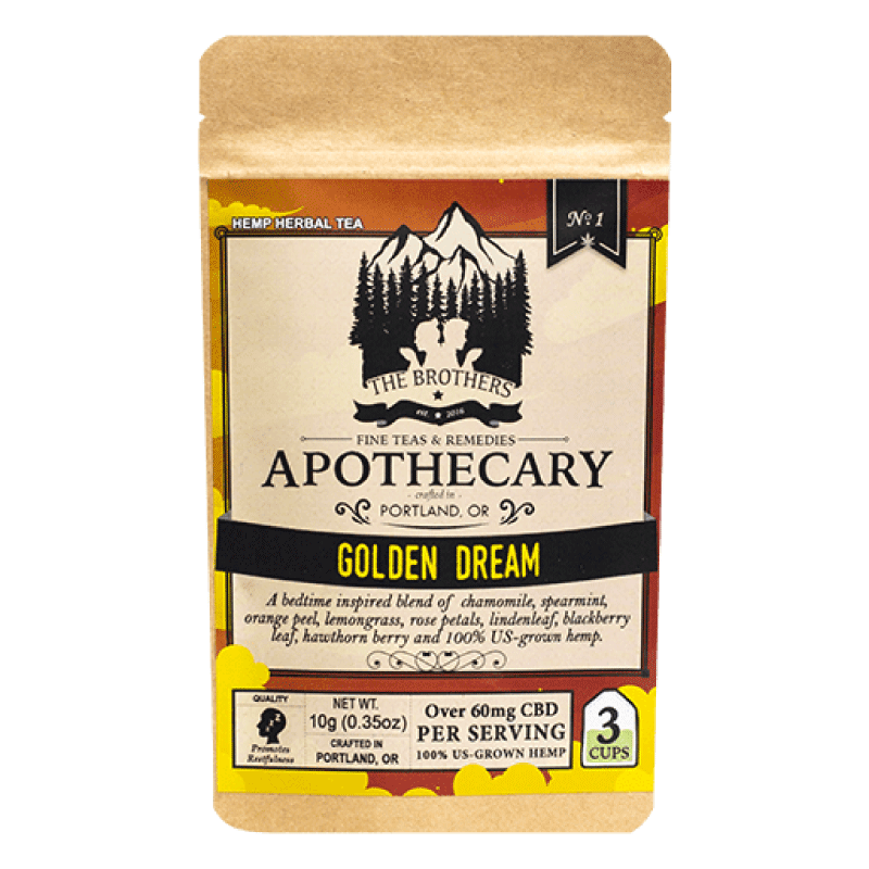 Brothers Apothecary CBD Golden Dream Tea
