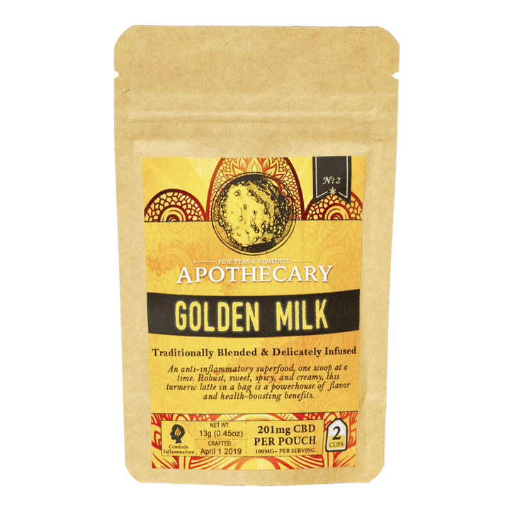 Borthers Apothecary CBD Tea Golden Milk