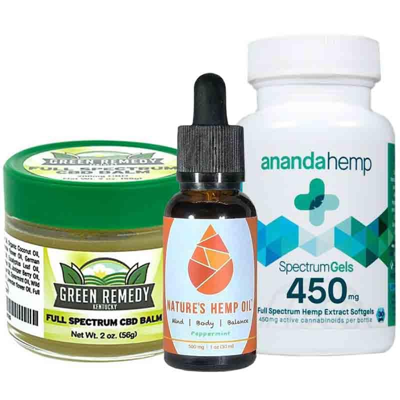 Kentucky Proud CBD Oil Gift Set