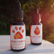 Nature's Hemp Oil CBD oil for pets and humans