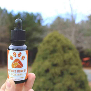 Nature's Hemp Oil CBD for pets